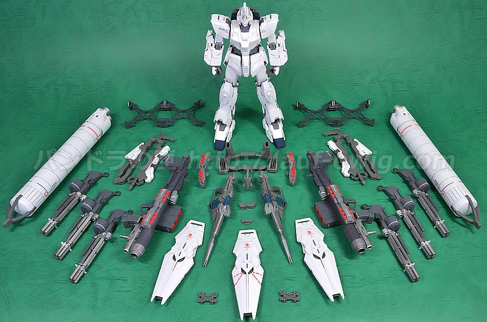 MG 1/100 RX-0 フルアーマーユニコーン Ver.Ka